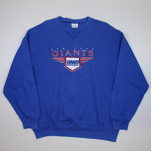 Vintage NFL 'New York Giants' Blue Sweater