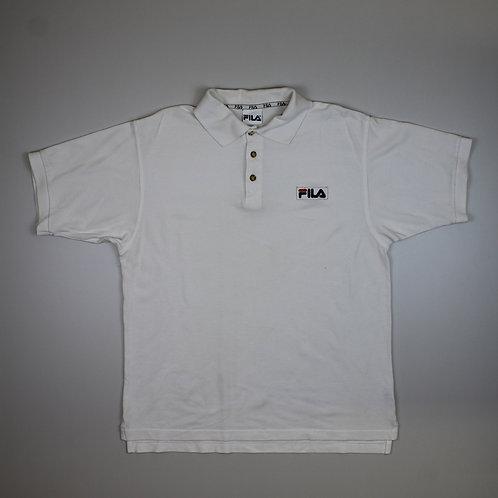 Fila White Polo