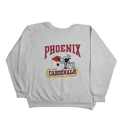 Phoenix Cardinals White Sweater