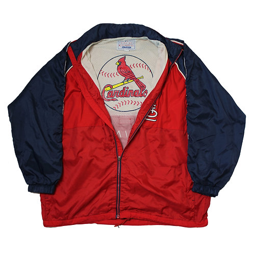 Starter St Louis Cardinals Red Tracksuit Top