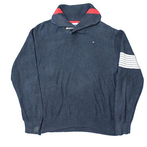 Tommy Hilfiger Navy Rollneck Sweater