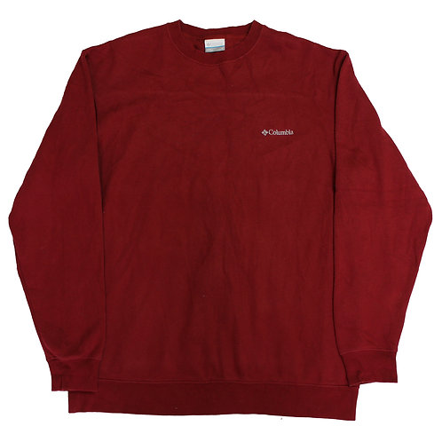 Columbia Red Sweater