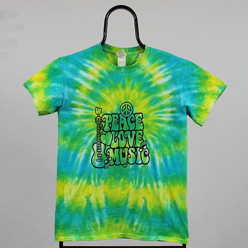 Vintage Tie Dye Peace TShirt