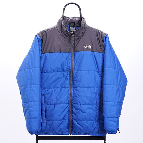 The North Face Vintage Blue Lightweight Puffer Jacket