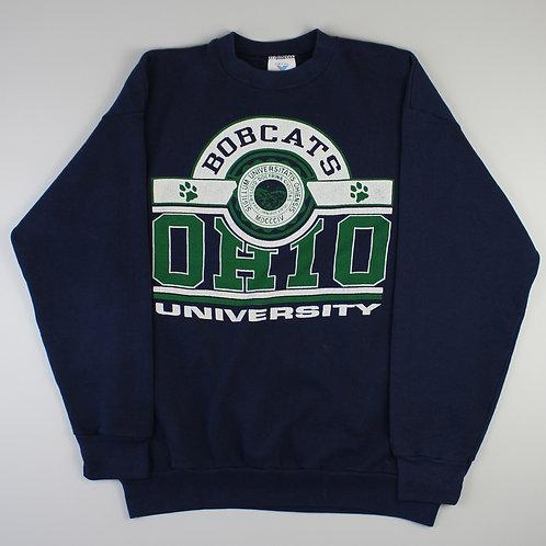 Vintage Navy 'Ohio Bobcats' Sweatshirt