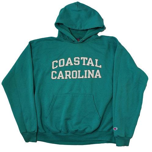 Champion 'Coastal Carolina' Turquiose Hoodie