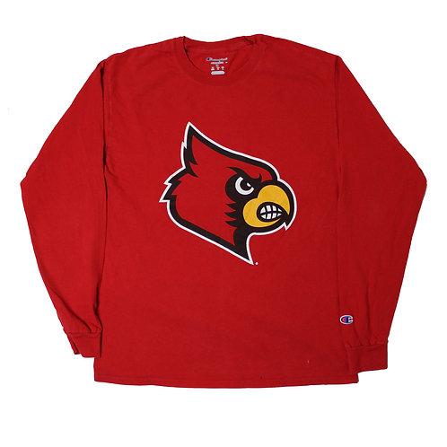 Champion 'Cardinals' Red Long Sleeved T-shirt