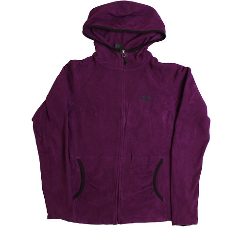 The North Face Purple Hooded Fleece
