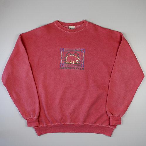 Vintage Pink 'Minnesota' Sweatshirt