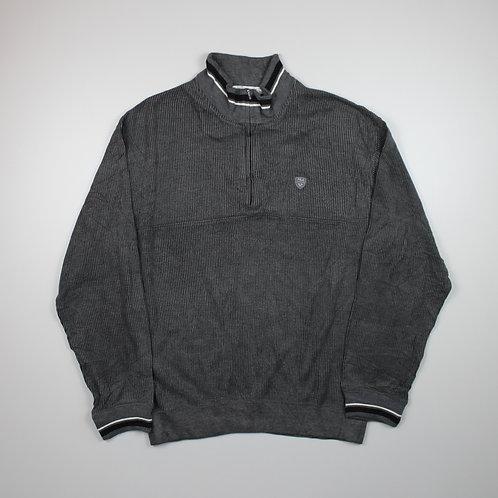 Fila Grey 1/4 Zip Sweater