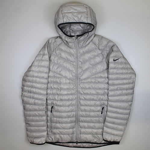 Nike Silver Puffer Jacket