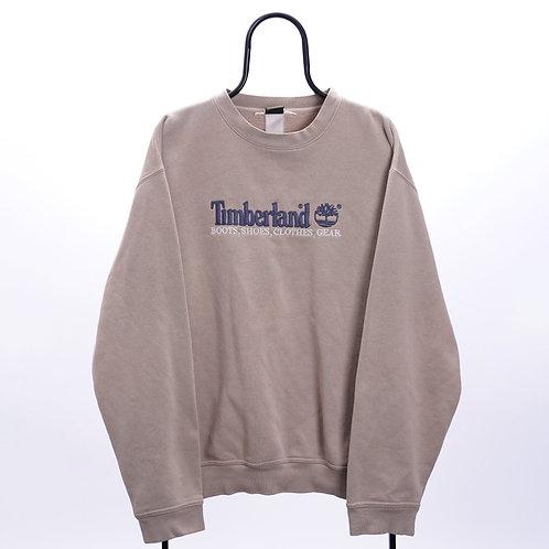 Timberland Vintage Cream Spell Out Sweatshirt