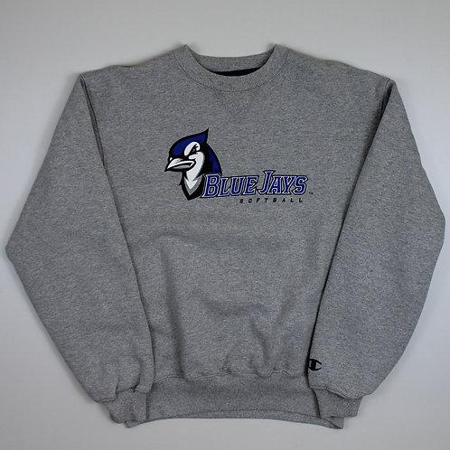 Champion Grey 'Blue Jays' Sweatshirt