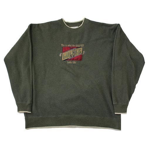 Vintage 'Golfer' Green Sweater