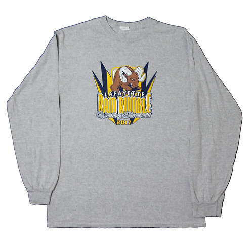 Vintage 'Ram Rumble' Grey Long Sleeved T-shirt