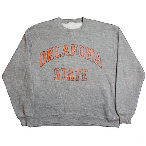 Grey Oklahoma State Sweater