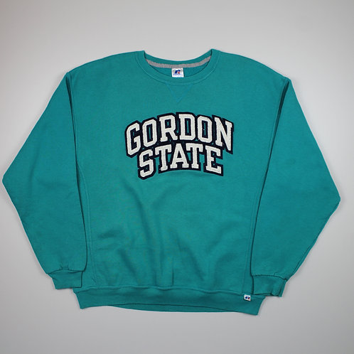 Russell Athletic 'Gordon State' Turquoise Sweater