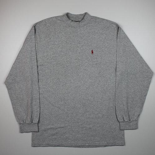 Ralph Lauren Grey Long Sleeved Top