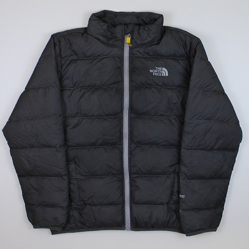 The North Face Grey 550 Puffer Coat