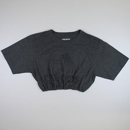 Adidas Reworked Grey Crop Top