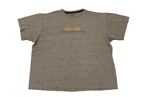 Nautica Grey 'NS-83' T-shirt