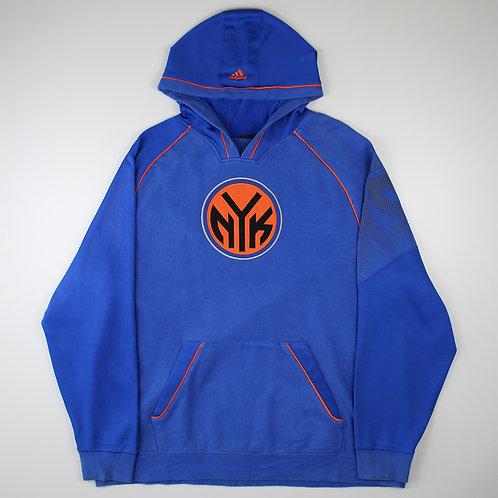Adidas Blue 'New York Knicks' Hoodie