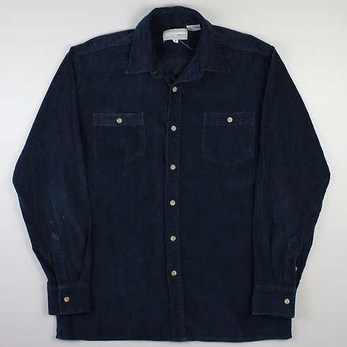 Vintage Navy Corduroy Shirt