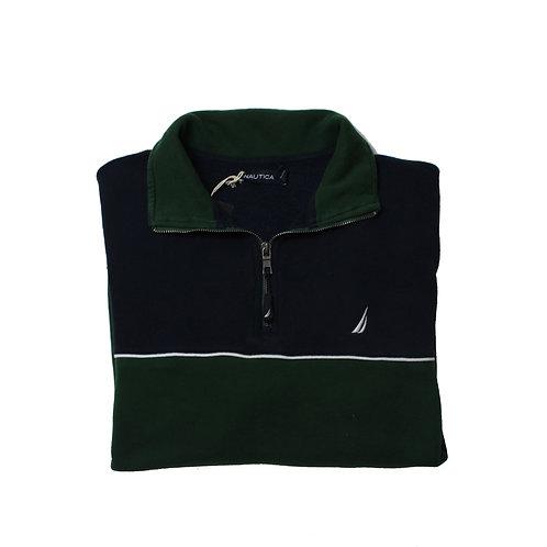 Nautica Green & Black Sweater