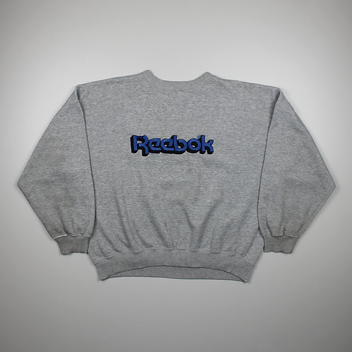 Reebok 'Spellout' Grey Sweater