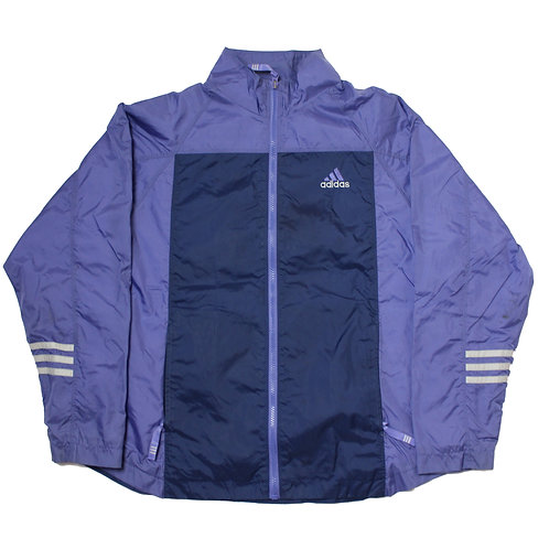Adidas Purple & Navy Tracksuit Top