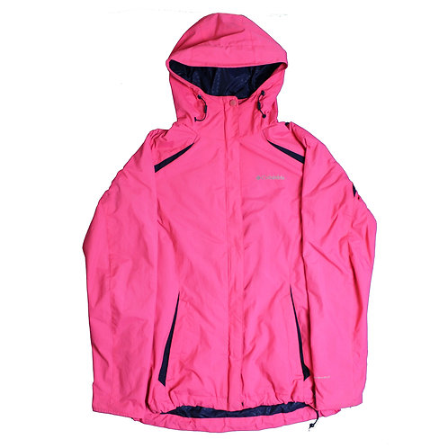 Columbia Pink Waterproof Coat