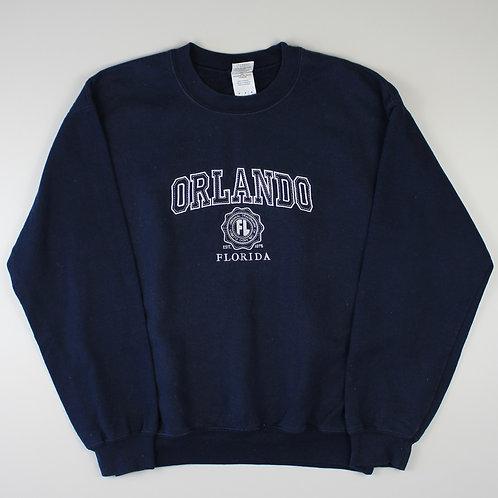 Vintage Navy 'Orlando' Sweatshirt