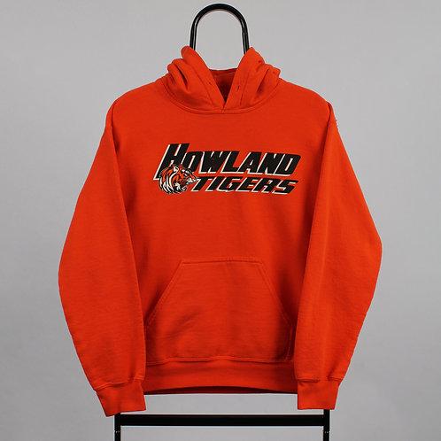 Vintage Orange Howland Tigers Hoodie