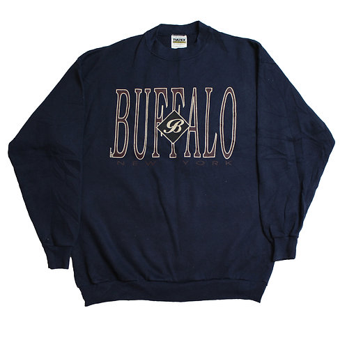 Vintage Navy 'Buffalo' Sweater
