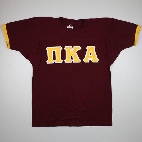 Vintage 'NKA' Maroon T-shirt