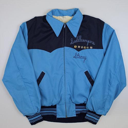 Vintage Blue 'Saddlesoapers' Jacket