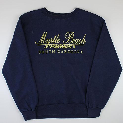 Vintage Navy 'Myrtle Beach' Sweatshirt