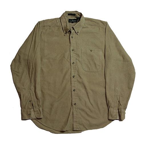 Vintage Beige Cord Shirt