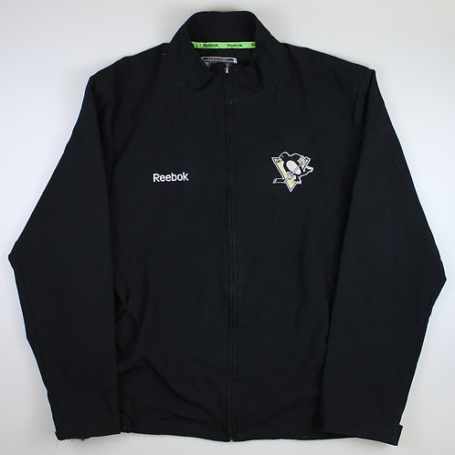 Reebok Black NHL Pittsburgh Penguins Tracksuit Top