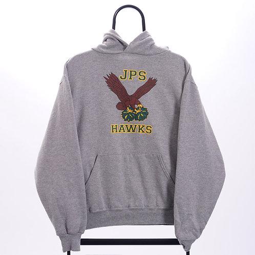 Vintage Grey JPS Hawks Hoodie