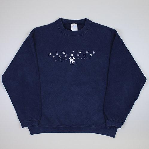 Majestic 'New York Yankees' Navy Sweater