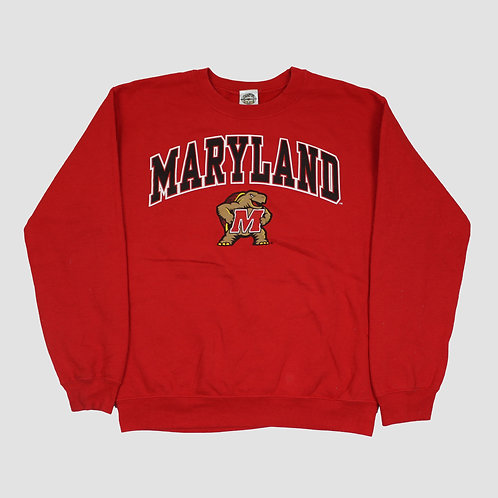 Vintage 'Maryland' Red Sweater