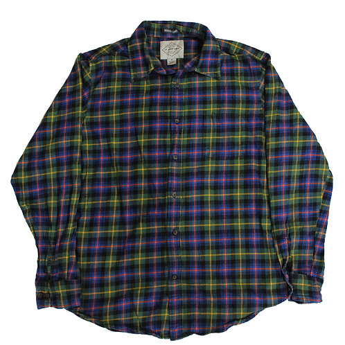 Coloured Flannel Shirt