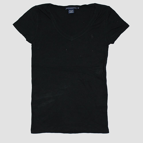 Ralph Lauren Black V-Neck Top