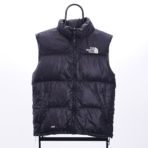 The North Face Vintage Black 700 Puffer Gilet