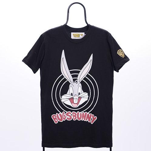 Looney Tunes Vintage Black Bugs Bunny TShirt