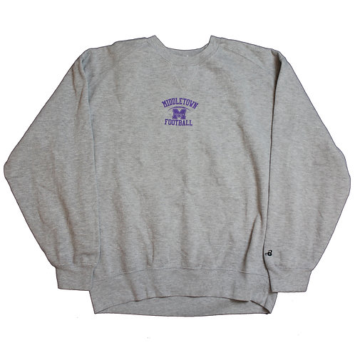 Middletown Football Grey Sweater