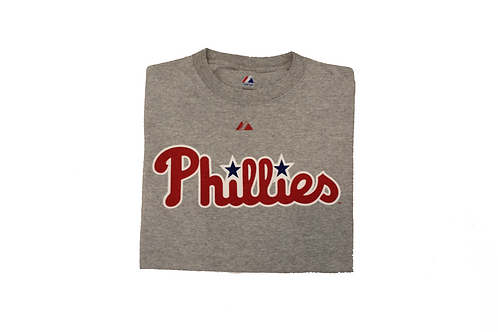 Vintage Grey 'Phillies' T-Shirt