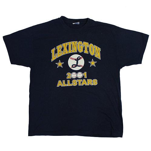 Vintage 'Lexington' Allstars Navy T-shirt