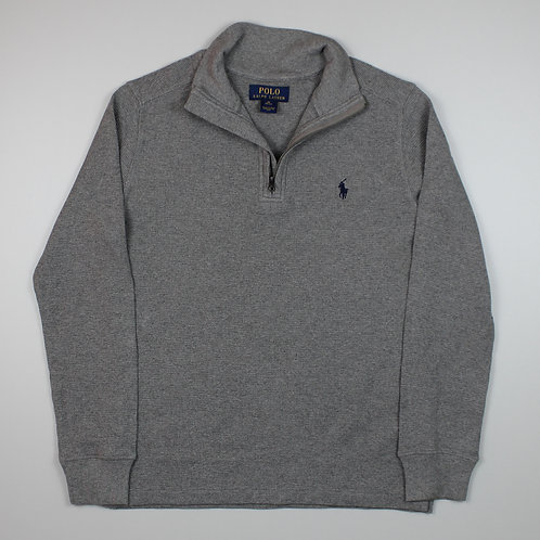 Ralph Lauren Grey 1/4 Zip Sweater